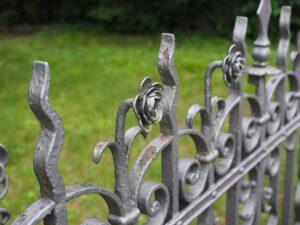 hercules cutom iron ornamental fence