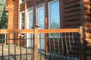 3 Tips To Consider When Choosing A Color For Your Deck Railing Hercules Custom Iron